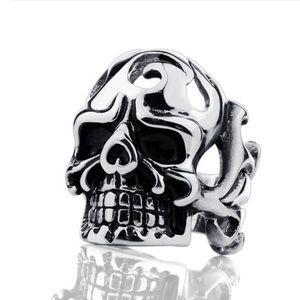 Titanium Skull Ring